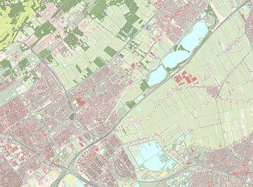 Kaart vanLeidschendam-Voorburg