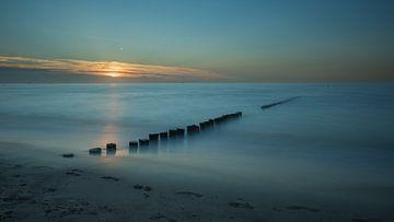 voetstappen in (Cad)zand von Jan Heijmans