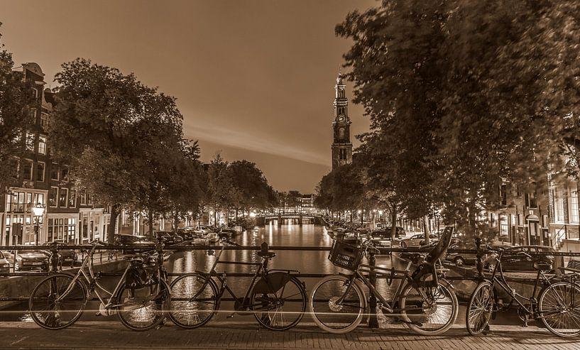 Amsterdamse Prinsengracht  van Jolanda de Buyzer