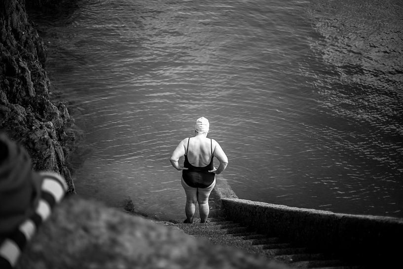 Before the dive van Joep Oomen