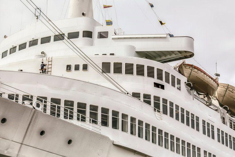 Brug van het Stoomschip Rotterdam van John Kreukniet