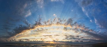 schitterende zonsondergang in Frankrijk van Arjen Schippers