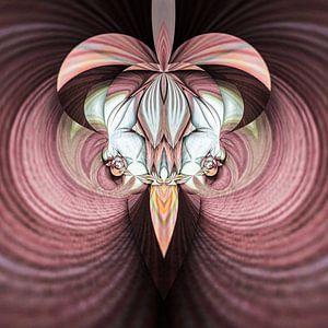 Phantasievolle abstrakte Twirl-Illustration 71/8