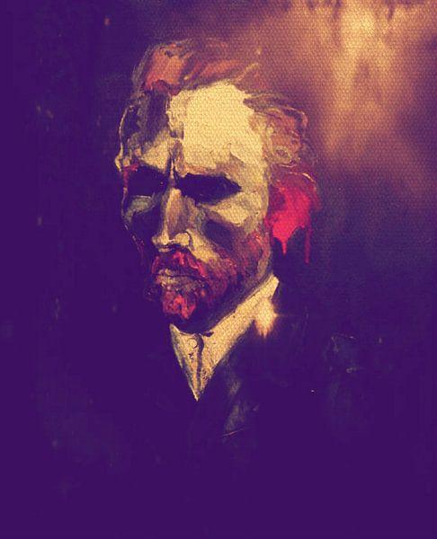Vincent van Gogh Pop Art PUR Serie No.1 van Felix von Altersheim