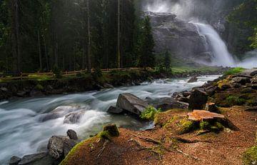 Krimmler waterfall von Jos Pannekoek