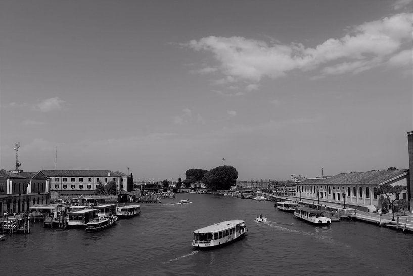 Paysage du Grand Canal de Venise sur Loretta's Art