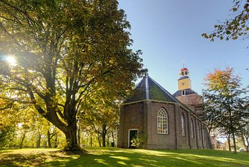 Het kerkje van Hornhuizen van Marnefoto .nl