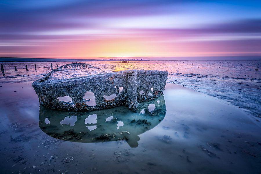 Shipwreck Wierum Holland van Michel Jansen