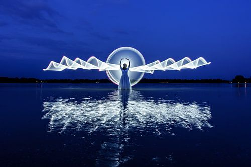 lightpainting - engel