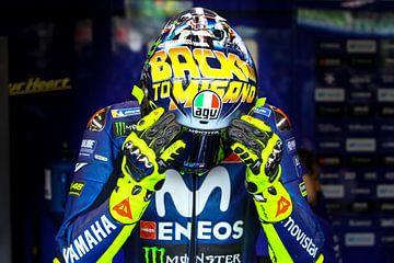 Valentino Rossi / MotoGP San Marino, Misano World Circuit van Marco Dek