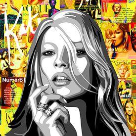 Kate Moss van Jole Art (Annejole Jacobs - de Jongh)