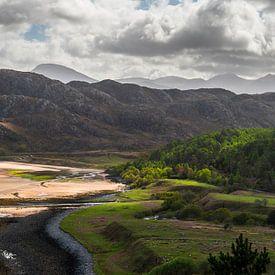 Amazing sunlight on the Scottish westcoast von Rob IJsselstein
