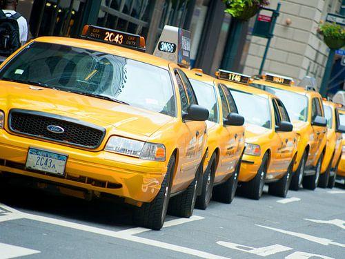 taxi's New York  van