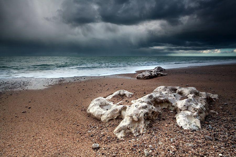 Stormy sky van Olha Rohulya