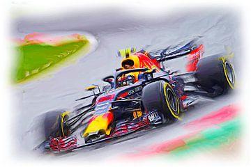 Number 33 - Max Verstappen 2018 van Jean-Louis Glineur alias DeVerviers