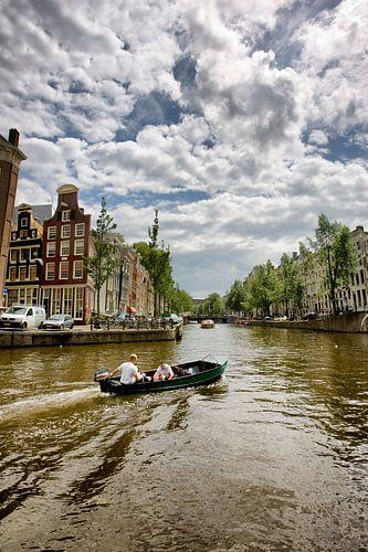 Amsterdamse grachten - De Gouden Bocht von Paul Teixeira