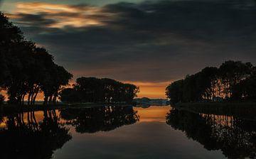 Sonnenuntergang von Jos Reimering