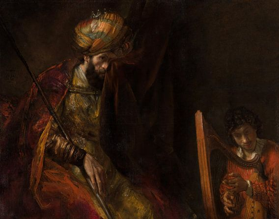 Rembrandt van Rijn, Saul en David van Meesterlijcke Meesters