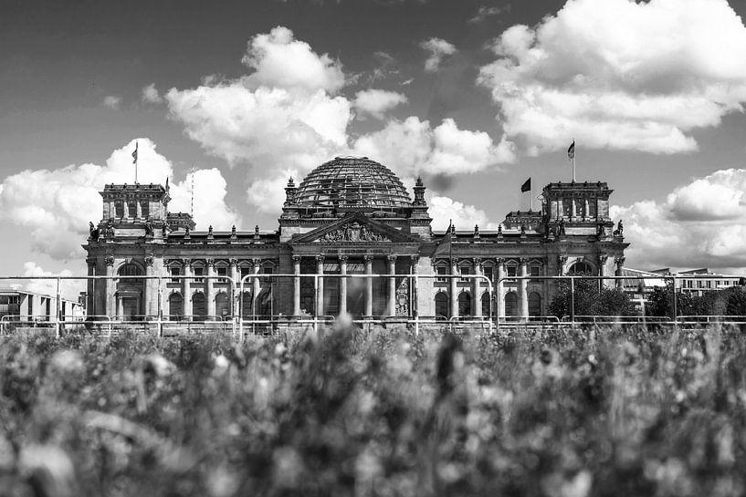 Reichstagsgebäude Berlin am Platz der Republik von Frank Herrmann