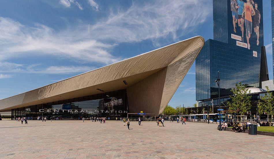 Rotterdam, centraal station, Station Kapsalon van Martin Stevens