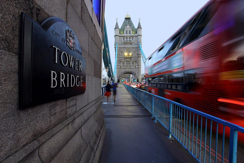 Tower Bridge Londres sur Patrick Lohmüller