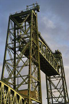 De Hefbrug in Rotterdam van Rob Pols