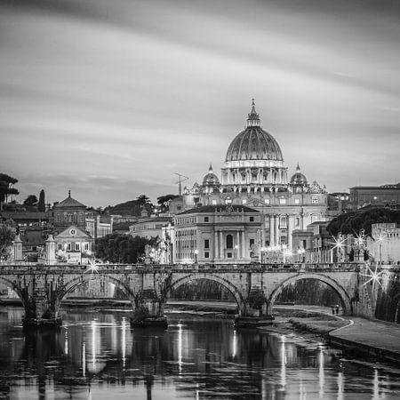 Italien im quadratischen Schwarzweiss, Rom