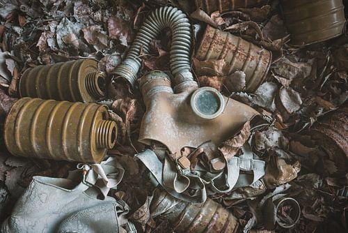 Gasmaskers van Perry Wiertz
