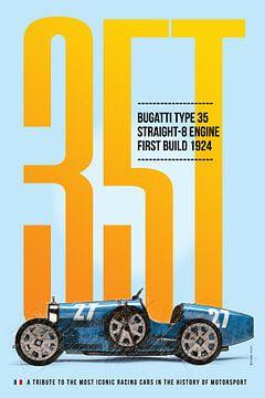 Bugatti Type 35 van Theodor Decker