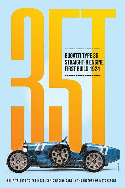 Bugatti Typ 35 von Theodor Decker