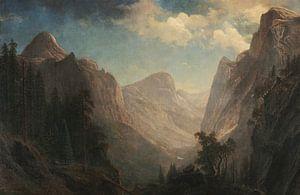 Blick in das Yosemite Valley, Albert Bierstadt