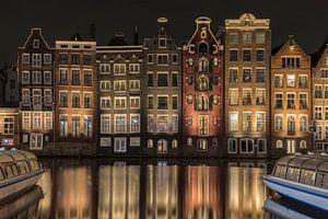 Grachtenpanden van Amsterdam van Yvs Doh