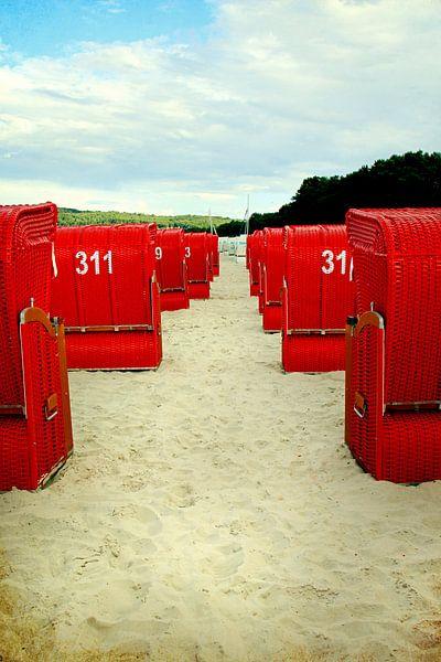 Strandkorb 311 van Rosi Lorz