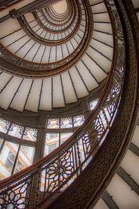 Bekende Rookery Building trapzaal Chicago van Cathy Janssens
