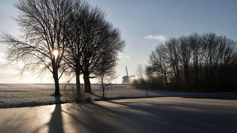 Winterochtend 2 van Laurens Morel