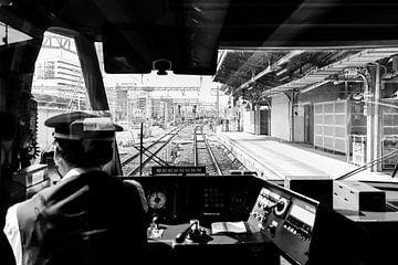 Im japanischen Hochgeschwindigkeitszug von Eveline Smolders