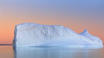 Sunset Hall Bredning, Scoresbysund, Grönland von Henk Meijer Photography