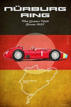 Nürburgring Vintage Fangio von Theodor Decker