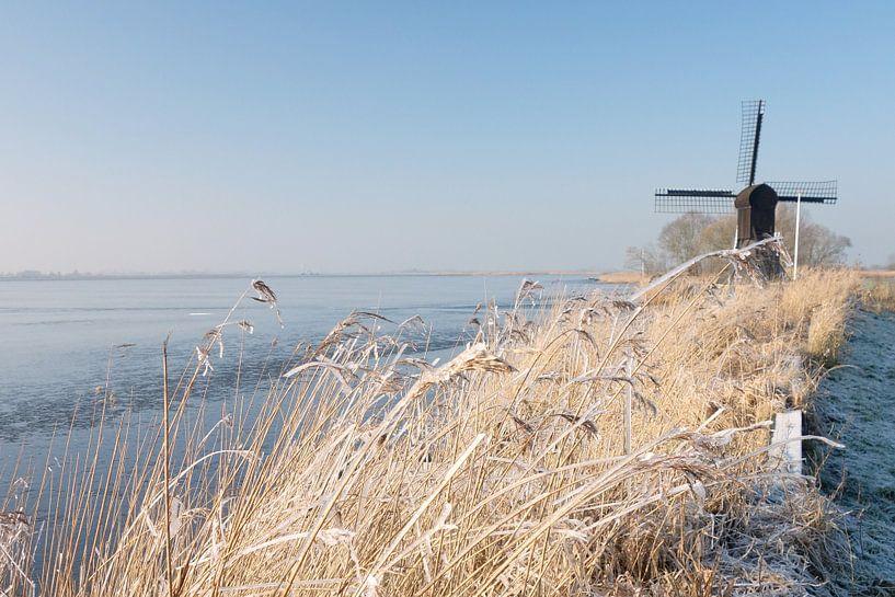 Winters Friesland van Pieter Heymeijer