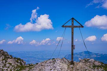 Gipfelkreuz, Allgäuer Alpen von Walter G. Allgöwer
