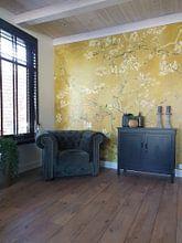 Kundenfoto: Mandelblüte ALMOND BLOSSOM ocker - Vincent van Gogh, auf fototapete