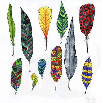 Feathers sur Esther  van den Dool