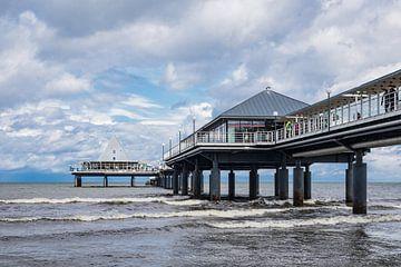 Pier in Heringsdorf van Rico Ködder