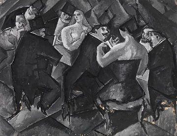Variété, HANNS BOLZ, Um 1910-1912 von Atelier Liesjes