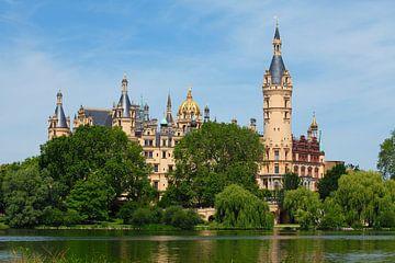 Schweriner Schloss , Schwerin, Mecklenburg-Vorpommern, Deutschland, Europa