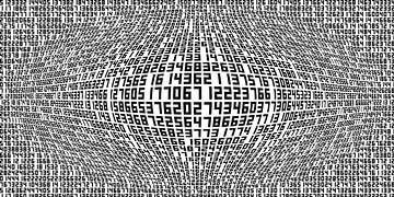 Zahlen,Ziffern von Marion Tenbergen