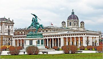 Burgtor in Wien von Leopold Brix