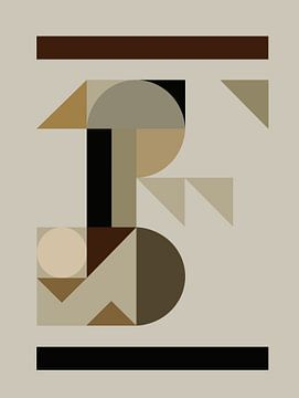 Composition abstraite 708 von Angel Estevez