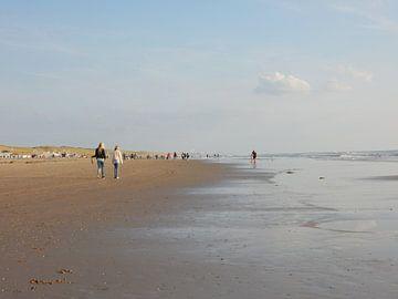 strand van Egmond aan zee van