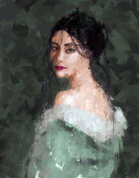 Geisha van Jacky Gerritsen